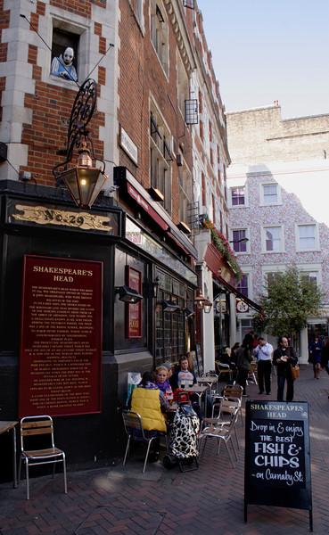 Shakespeare's Head Pub Carnaby Street Soho London