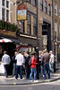 The Dog and Duck pub Soho London April 2009