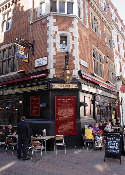 Shakespeare's Head Pub Carnaby Street London