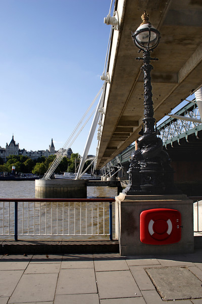 Hungerford Bridge South Bank London
