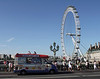 Ice Cream Van and London Eye summer 2010