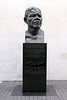 Bust of Nelson Mandela outside Royal Festival Hall London
