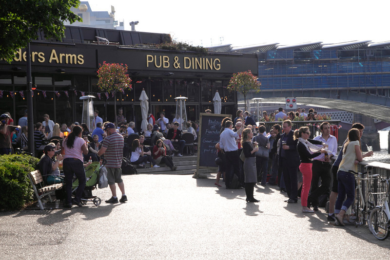 Founders Arms Pub South Bank London