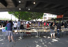 Book Market at the South Bank London summer 2010