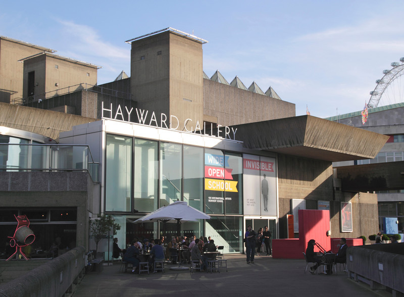 Hayward Gallery at the Southbank Centre London