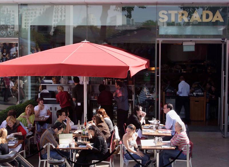 Strada Cafe South Bank London September 2008
