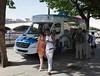 Ice cream van South Bank London summer 2010