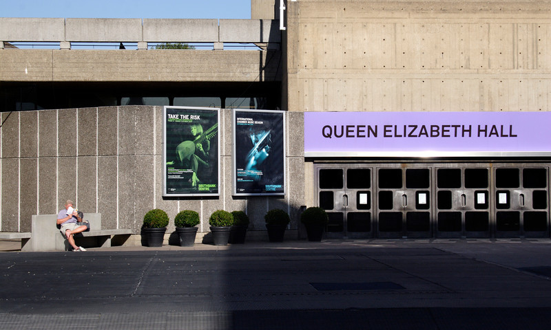 Queen Elizabeth Hall at the South Bank Centre London