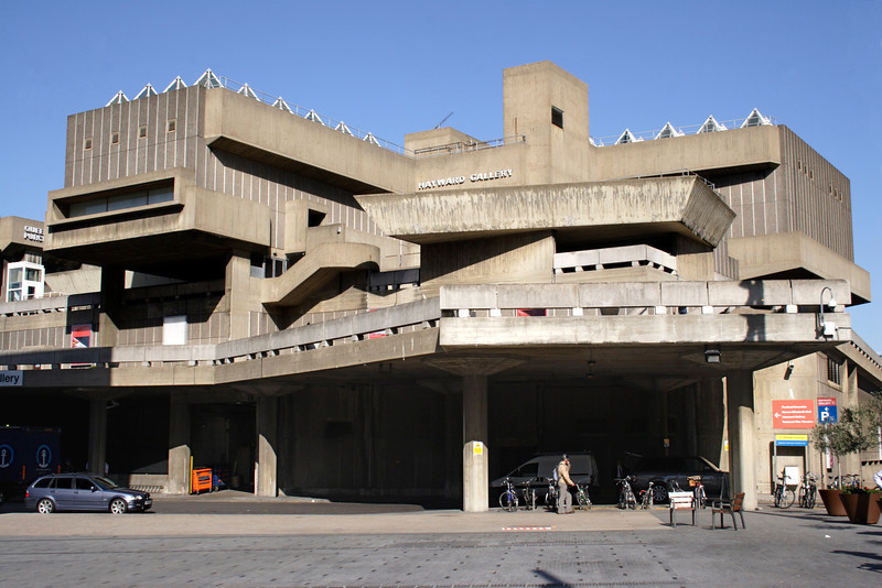Hayward Gallery at the South Bank Centre London