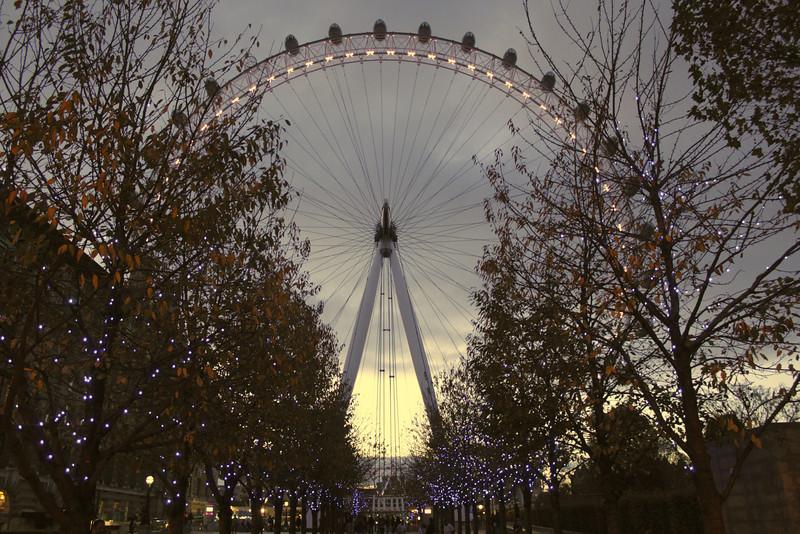 London Eye at night November 2010