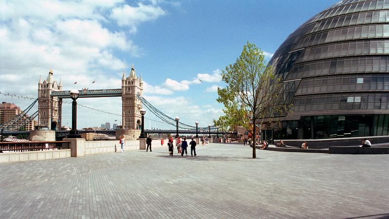 GLA HQ and Tower Bridge London