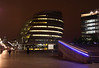 GLA HQ London at night 2007