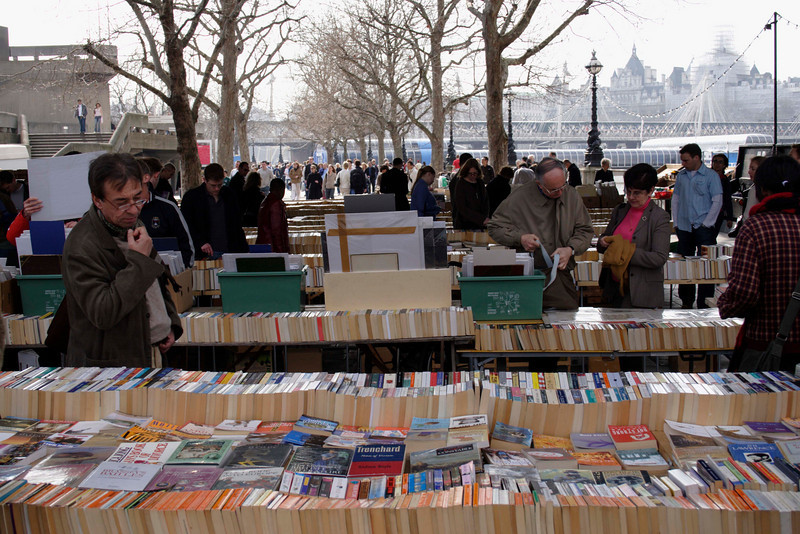 Book Market South Bank London