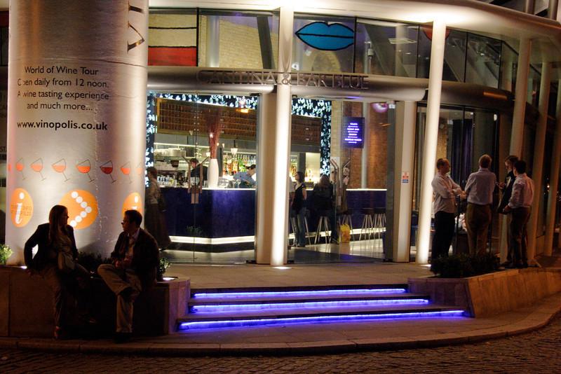 Cantina Vinopolis restaurant Southwark London