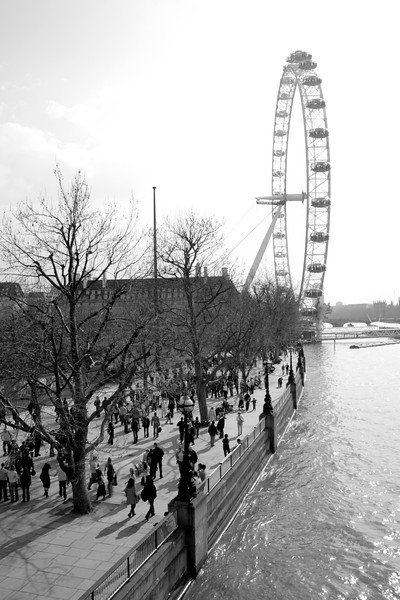 South Bank and London Eye