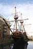 The Golden Hind replica ship London