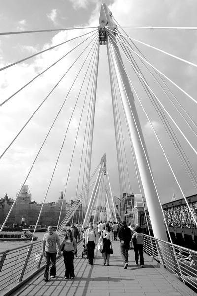 Hungerford bridge London