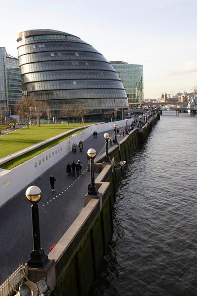 GLA HQ South bank London