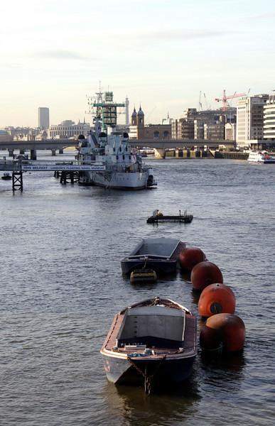 HMS Belfast London 2007