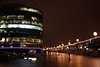 Office Building at night South Bank London 2007