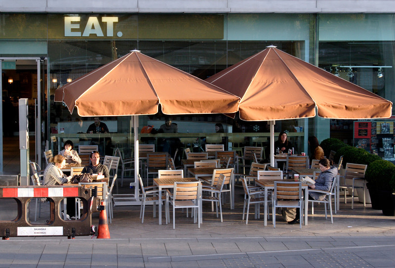 EAT cafe at the South Bank Arts Centre London