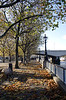 South Bank Promenade Autumn London