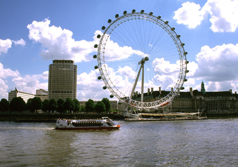 London Eye South Bank