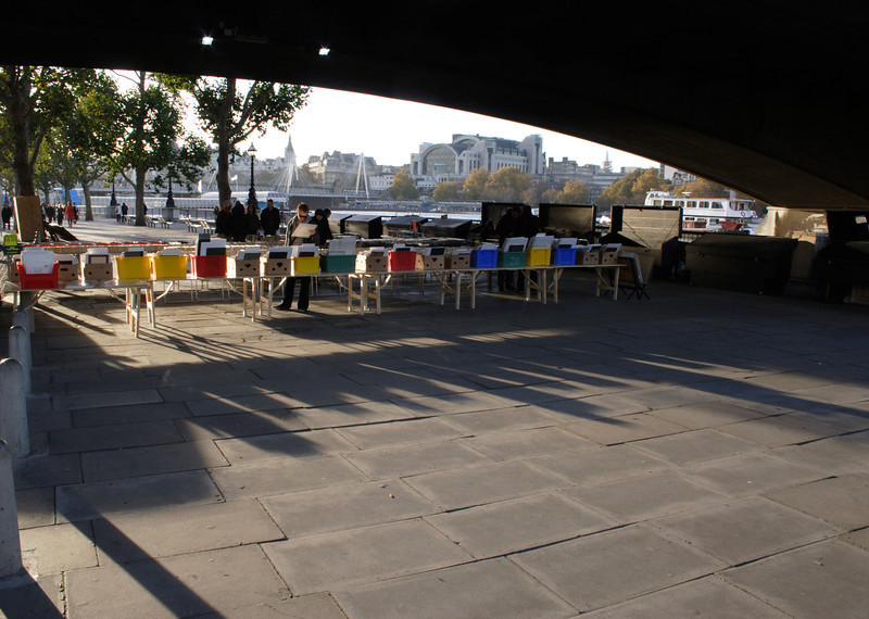 Second Hand Book market South Bank London