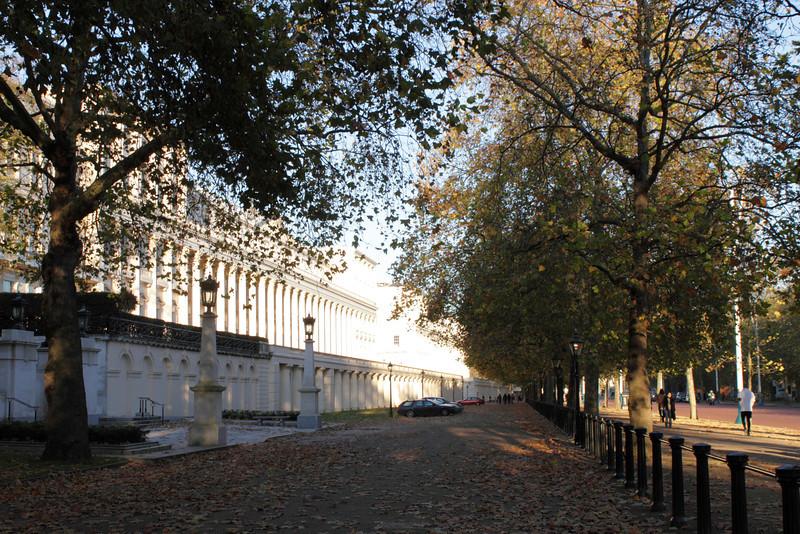 The Mall near St James's Park London Autumn 2010