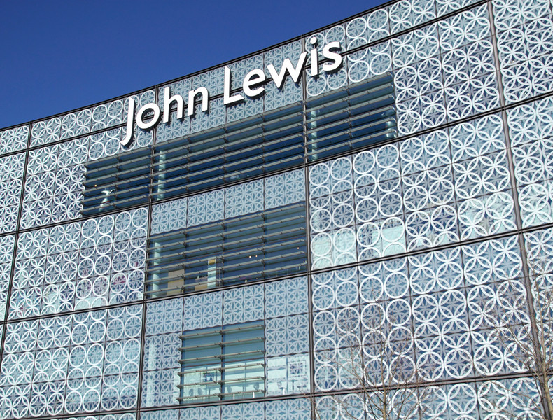 John Lewis Department Store at Westfield Shopping Centre Stratford London