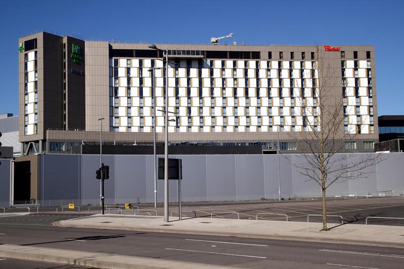 Holiday Inn hotel at Stratford London