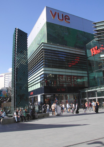 Vue Cinema at Stratford Westfield Shopping Centre London