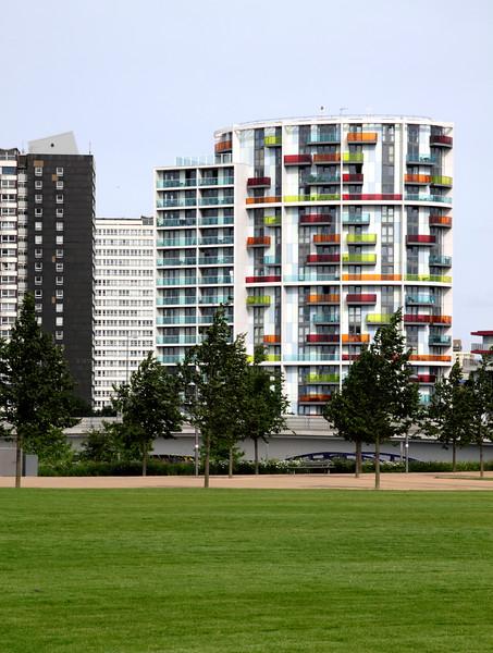 East Village flats Olympic park Stratford London