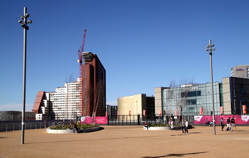 Stratford One student flats and John Lewis Store Stratford London
