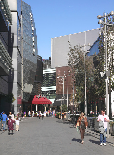 Westfield Shopping Centre Stratford London