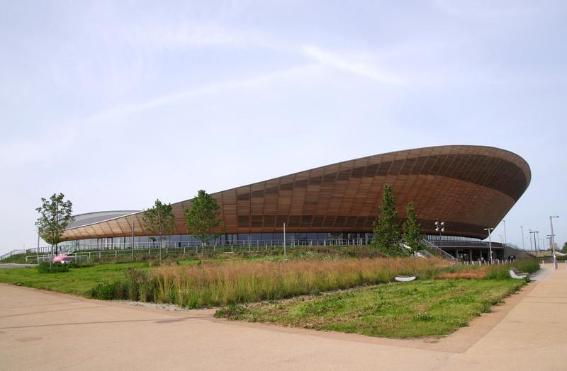 Velodrome at Olympic Park Stratford London