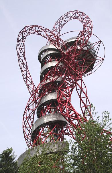 Anish Kapoor Orbit Sculpture at Olympic Park Stratford London