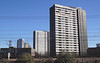 High Rise flats Stratford London