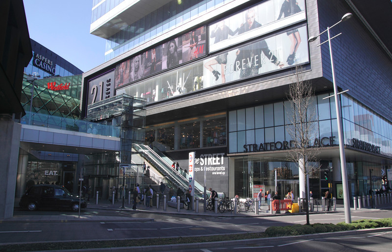 Westfield Shopping Centre Stratford London