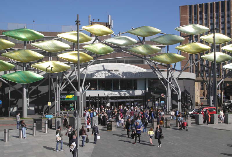 Stratford Centre shopping mall London