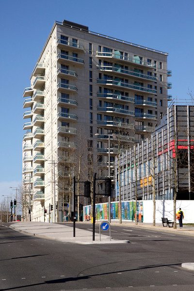 New apartments East Village Olympic Park Stratford London