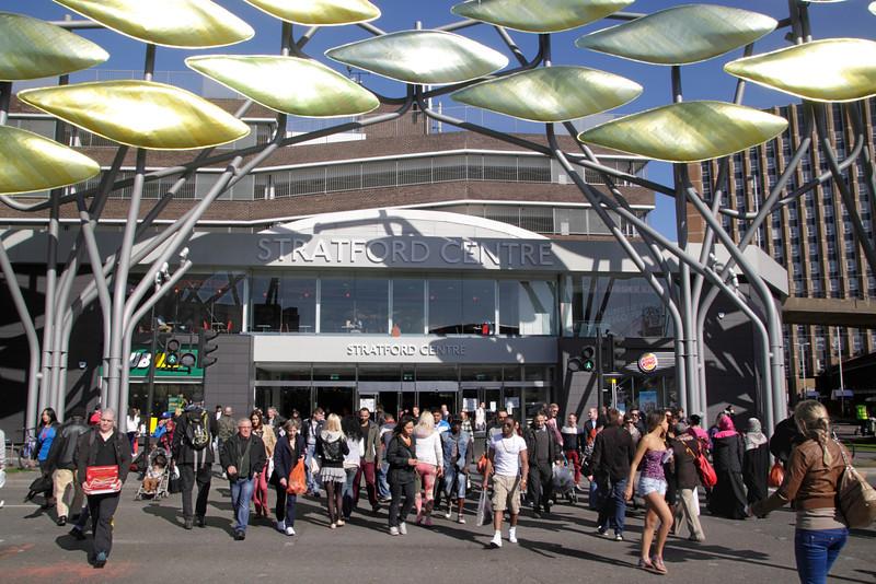 Stratford Centre shopping mall London