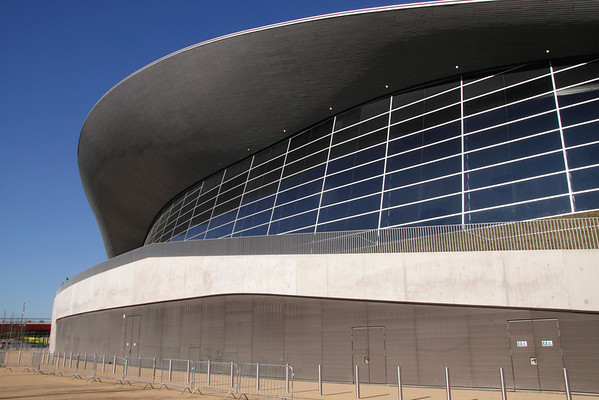 Aquatics Centre at the Olympic Park Stratford London