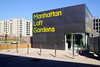 Marketing suite for Manhattan Loft Gardens new residential tower block Stratford London