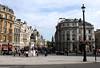 Trafalgar Square towards Westminster London summer 2010
