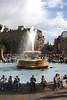 Fountain at Trafalgar Square London