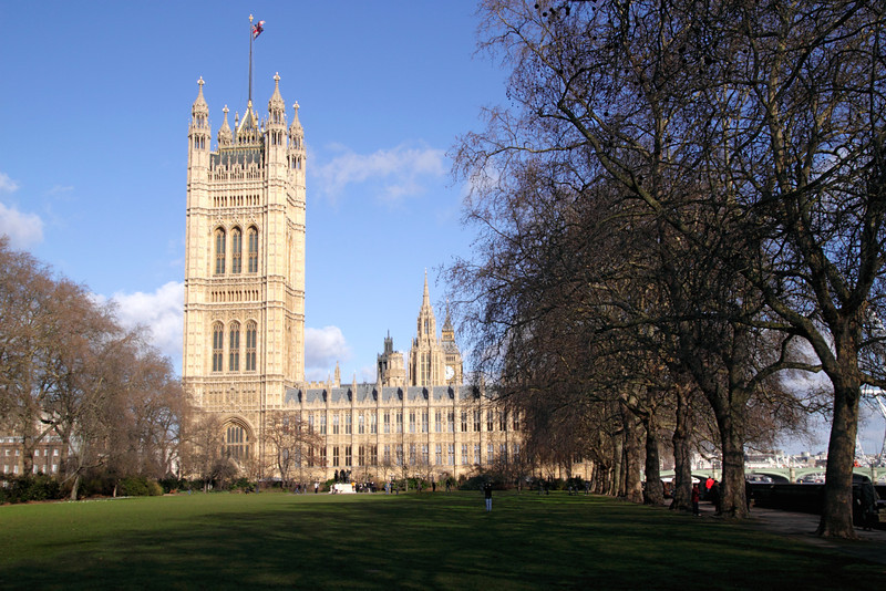 Victoria Tower Houses of Parliament Westminster London