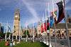 Parliament Square and Commonwealth Flags London June 2012