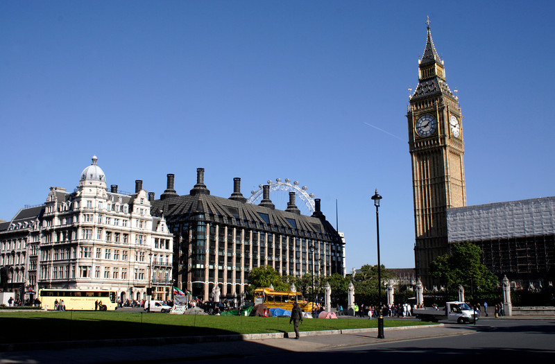 Parliament Square Westminster London