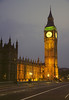 Big Ben Westminster London at night